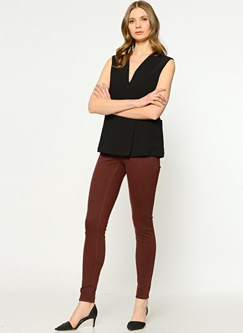 Vero Moda Pantolon | Seven - Super Slim Kahve